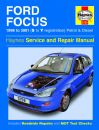 Haynes Workshop Manual Ford Focus Petrol and Diesel (98 - 01) S to Y